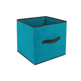 Boîte de Rangement - 31 x 31 cm. - Turquoise