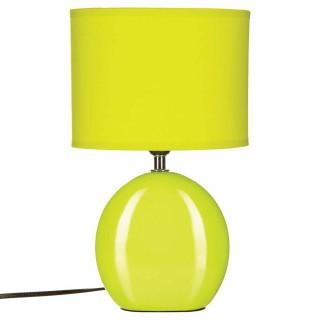Lampe Ovale en céramique - H. 31 cm. - Anis