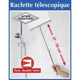 Raclette télescopique extensible