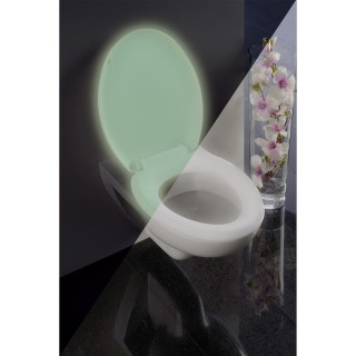 Abattant WC Fluorescent - Thermoplastique