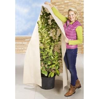 Housse de protection pour végétaux - Beige - 200 x 500 cm.