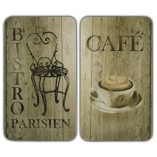 2 Couvre-plaques universel - Bistro