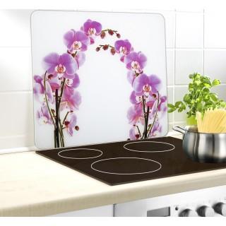 Couvre-plaque - Fleur d'orchidée