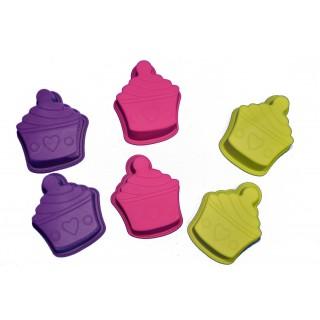 6 Moules miniatures - Gâteaux