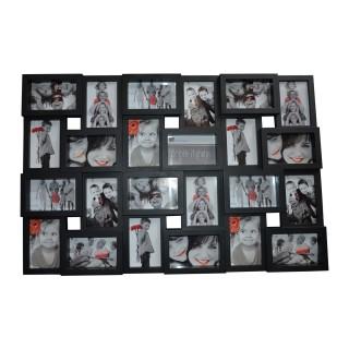 Pêle-mêle 24 Photos - 57 x 85,5 cm - Noir
