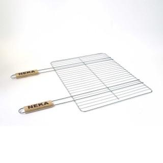 Grille barbecue rectangulaire - 38 x 50 - Métal