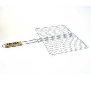 Grille barbecue double - 40 x 50 cm.