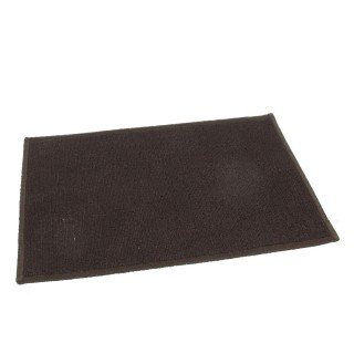 Tapis uni - 50 x 80 cm. - Chocolat
