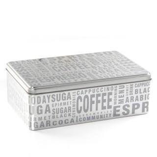 Boîte à sucre - Silver Words
