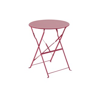 Table camargue Ronde - 2 Places - Framboise