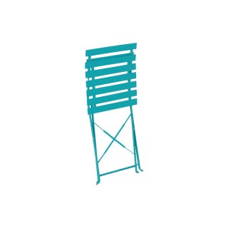 Chaise pliante Camargue - Bleu lagon
