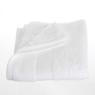 Serviette de toilette - 90 x 50 cm. - Blanc