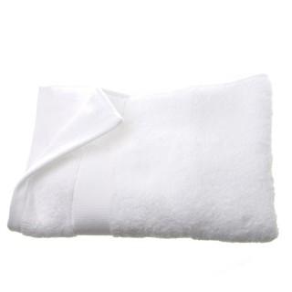 Serviette de toilette - 130 x 70 cm. - Blanc