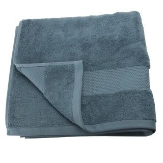 Serviette de toilette Coton peigné - 90 x 50 cm. - Bleu