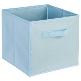 Bac de rangement avec poignée - Bleu