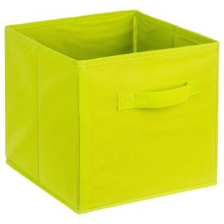 Bac de rangement avec poignée - Vert