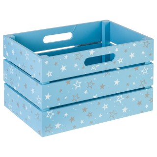 Cagette de rangement - Bleu