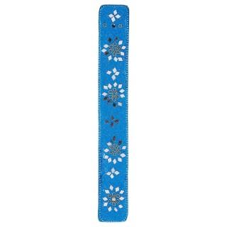 Support perles pour bâtons d'encens - Bleu