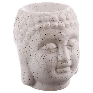 Brûle parfum en céramique - Bouddha - Beige