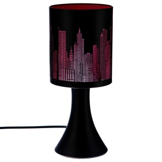Lampe touch New York - Rose