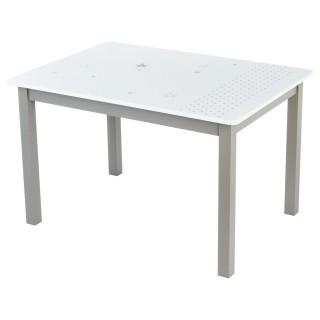 Table enfant - 55 x 77 cm. - Taupe
