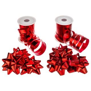 Kit bolduc 8 pièces - Rouge