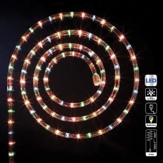 Guirlande tube LED d'extérieur - 6 m. - Multicolore