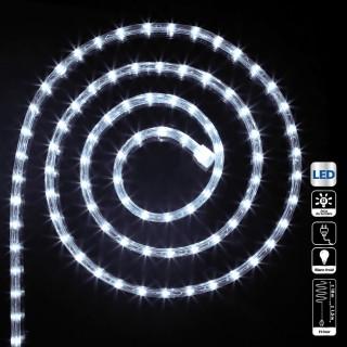 Guirlande tube LED d'extérieur - 18 m. - Blanc froid