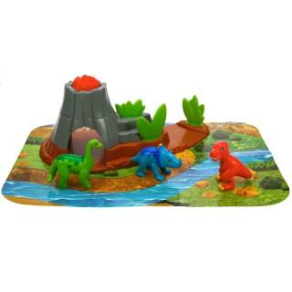 Le volcan et les dinosaures