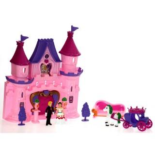 Château de princesse et ses accessoires - Son et lumières