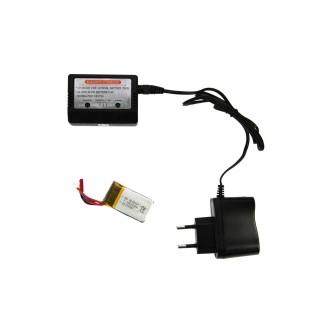 Kit de chargement pour drone Helicute - LiPo 3.7V/500mAh