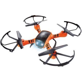 Drone télécommandé avec caméra - Rouge