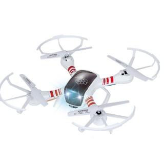 Drone télécommandé avec caméra - Blanc