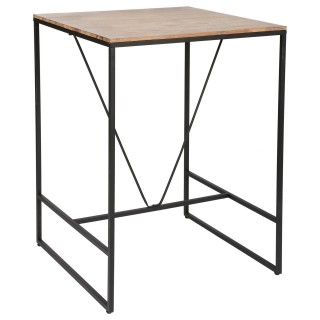 Table de bar Edena - 80 x 80 x 98 cm