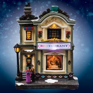 Village de Noël lumineux - Restaurant