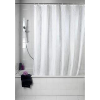 Rideau de douche Deluxe - Blanc