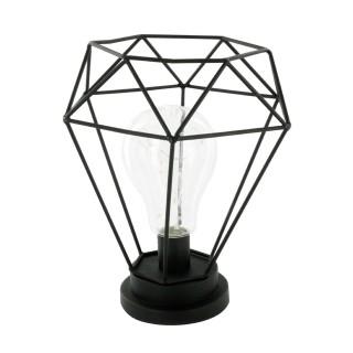 Décoration lumineuse Lampe Fil - Noire