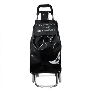 Chariot shopping Mots - Noir