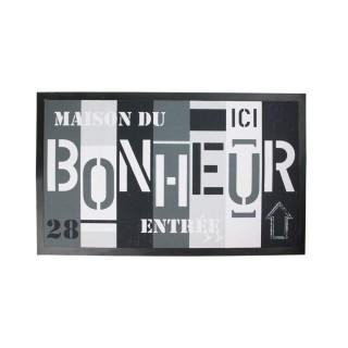 Tapis d'entrée - 45 x 75 cm - Bohneur