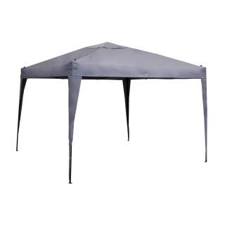 Tonnelle pliante Easy up - 3 x 3 m - Ardoise