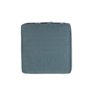 Galette de chaise - 40 x 40 cm - Bleu orage