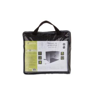 Housse de fauteuil M - 120 x 105 x 100 cm - Ardoise