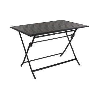 Table pliante rectangulaire Azua - 4 Places - Graphite