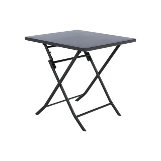 Table pliante carrée Greensboro - 2 Places - Graphite