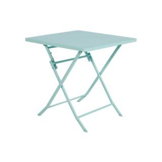 Table pliante carrée Greensboro - 2 Places - Mint