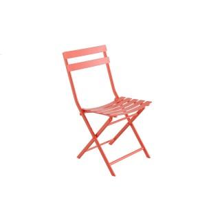 Chaise pliante Greensboro - Corail
