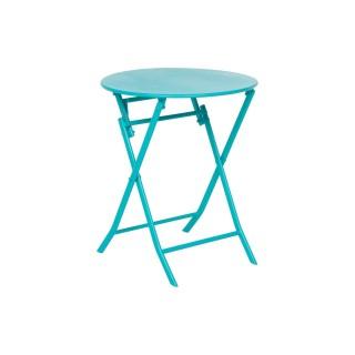 Table pliante ronde Greensboro - 2 Places - Lagon