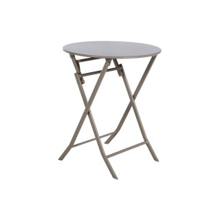 Table pliante ronde Greensboro - 2 Places - Taupe