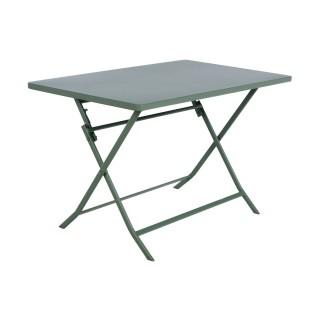 Table pliante rectangulaire Greensboro - 4 Places - Kaki