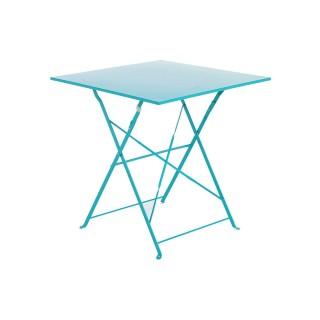 Table pliante carrée Camargue - 2 Places - Lagon